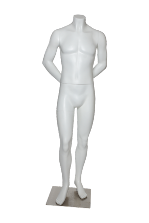 Male . Transparent mannequin black and white download