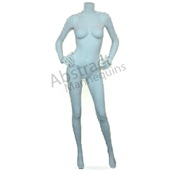 Transparent mannequin acrylic. Abstract mannequins and lets
