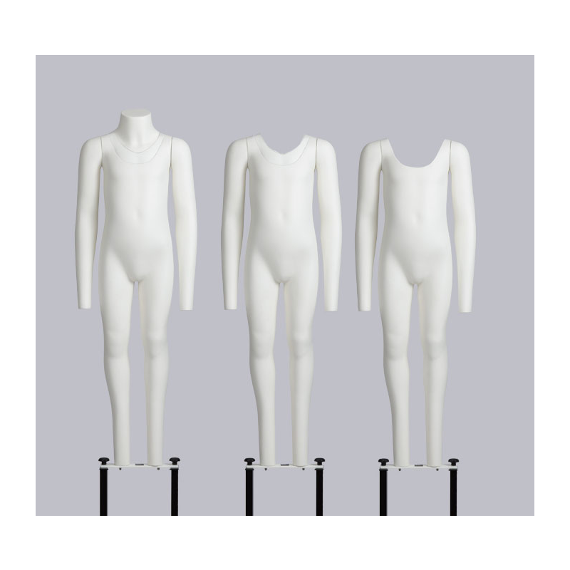 Transparent mannequins coat. How to choose the