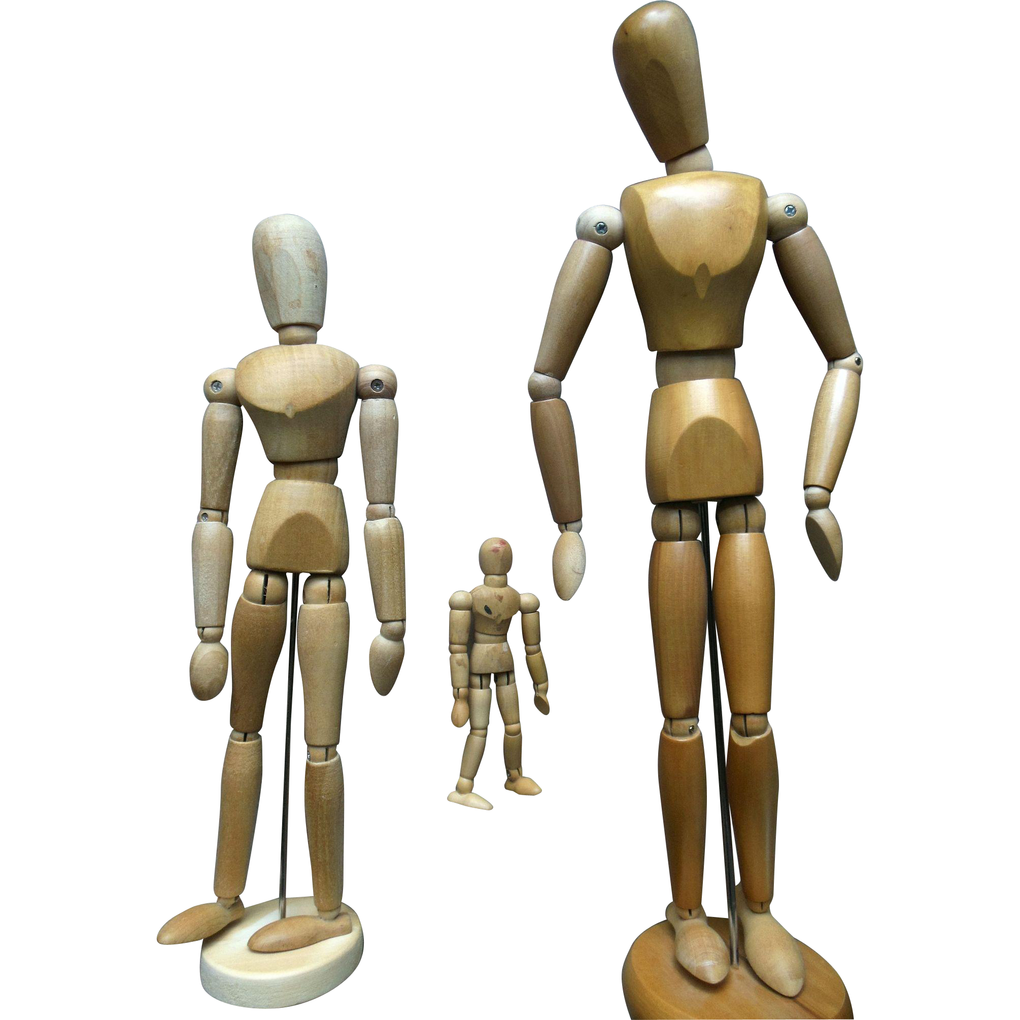 Transparent mannequins wood art. Mannequin dress form manekenas