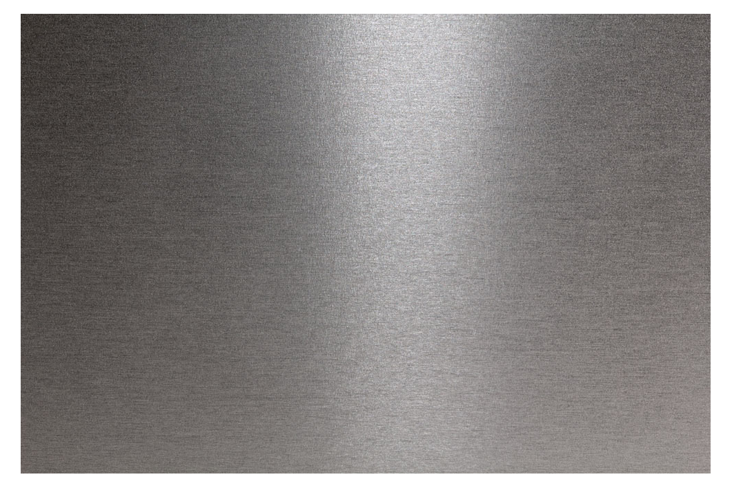 Transparent mapping metal. Stainless steel texture metallic