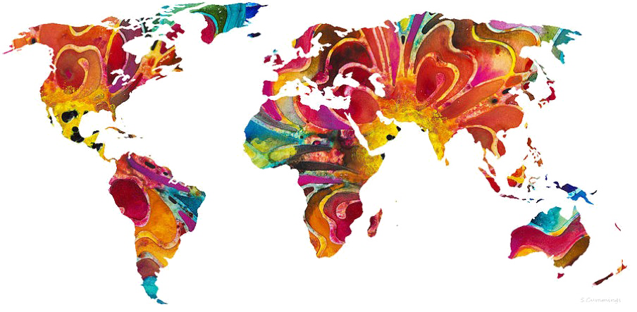 Map Of The World Transparent.Transparent Maps Abstract Transparent Png Clipart Free Download