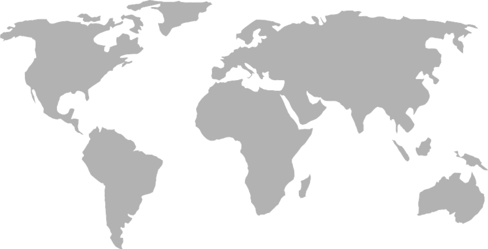 Transparent maps grayscale. File world map png