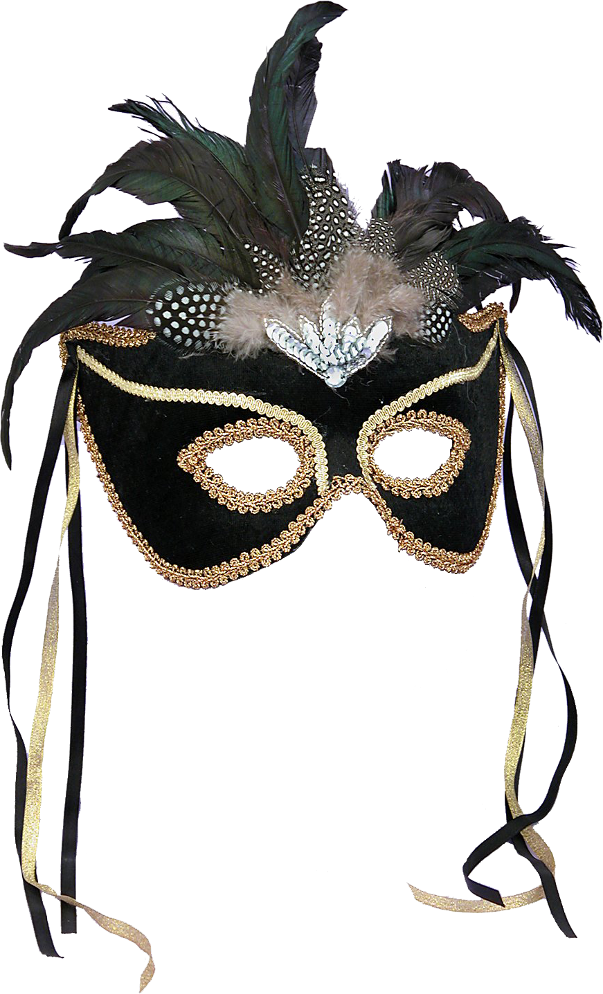 Transparent masks feather. Mask masquerade ball halloween
