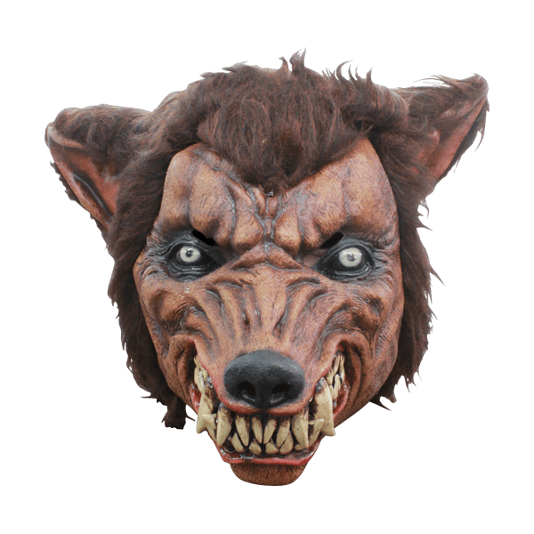 transparent masks wolf