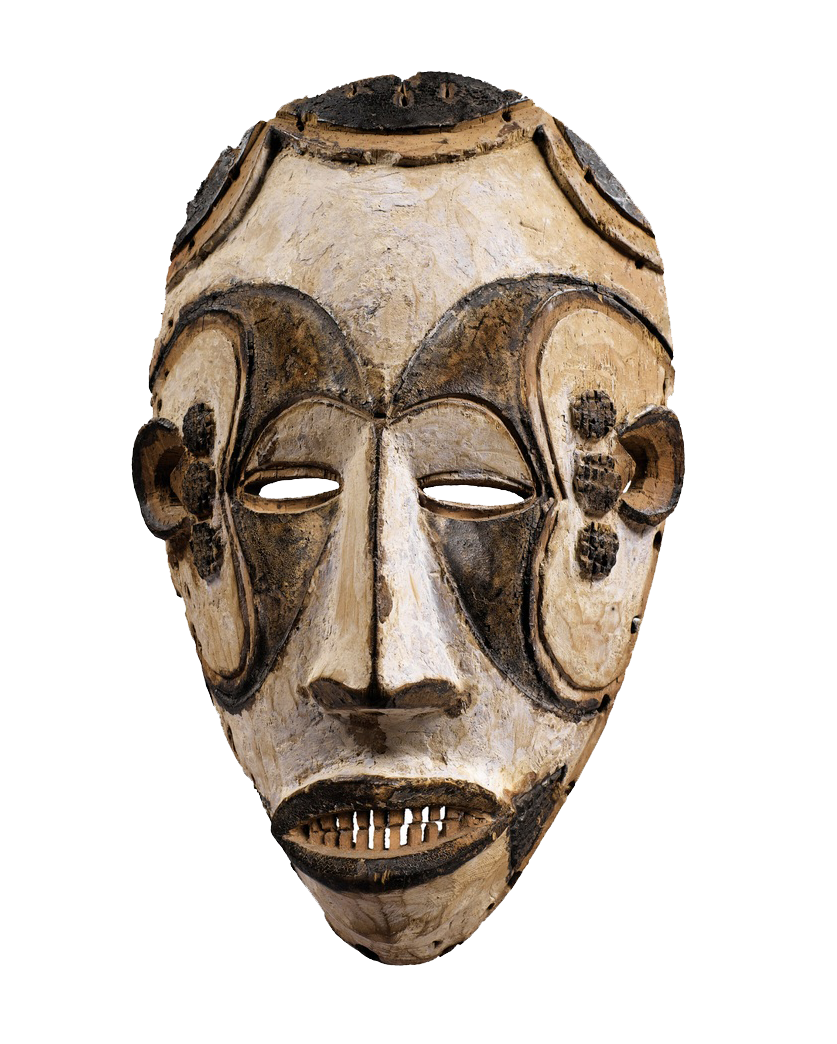 Transparent masks west african. Africa agbogho mmwo mask