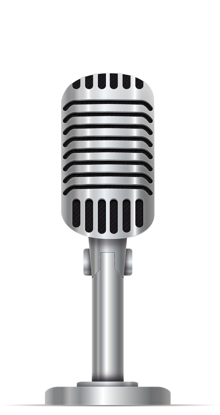 Transparent mic 1920's. Microphone png free images