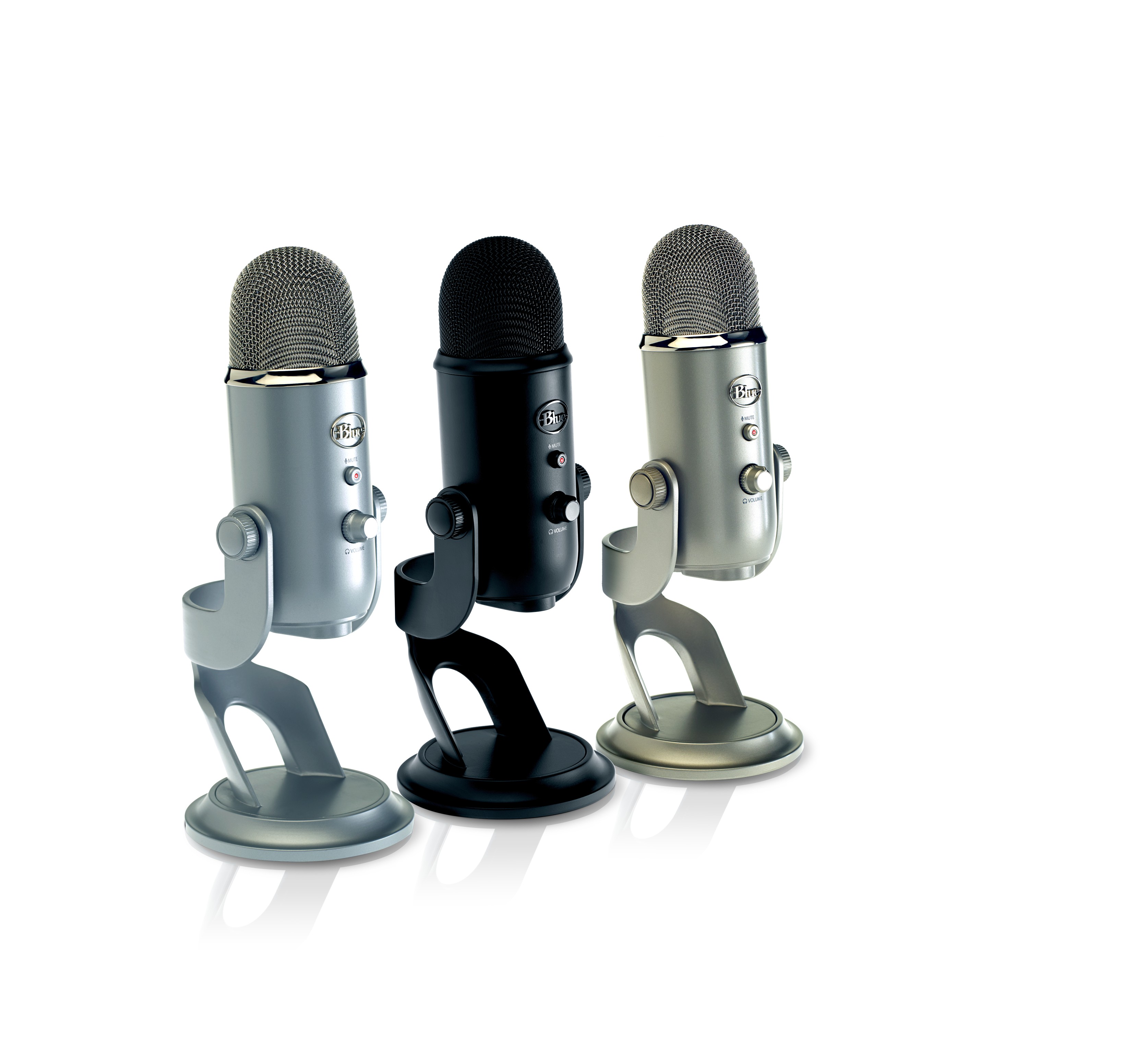 Transparent mic clear background. Blue microphone s blackout