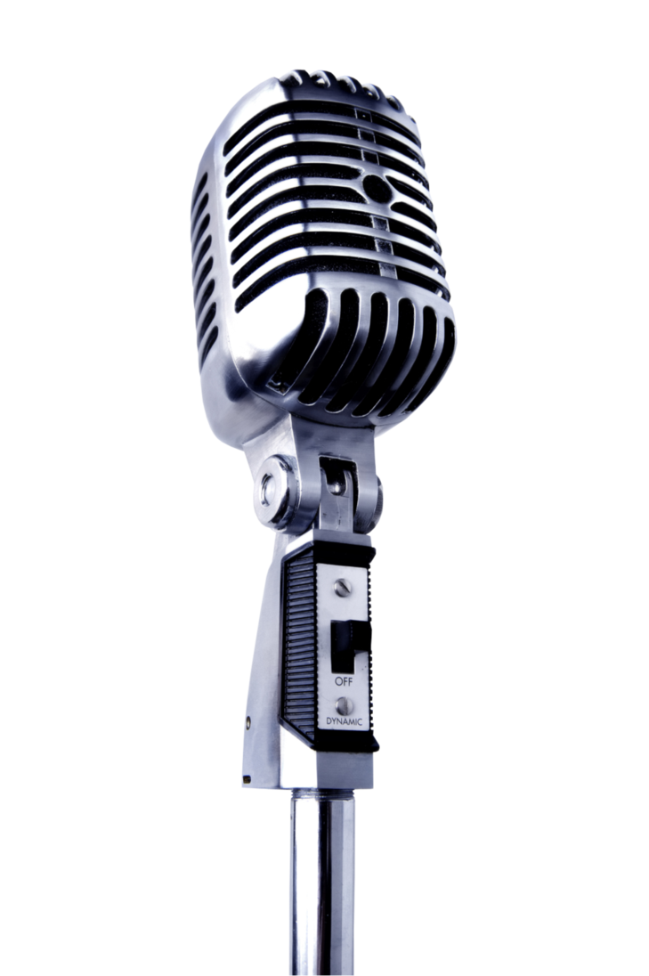 Transparent mic comedian. Microphone by ceriseiii on