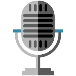 Transparent mic entertainment. Microphone icon myiconfinder
