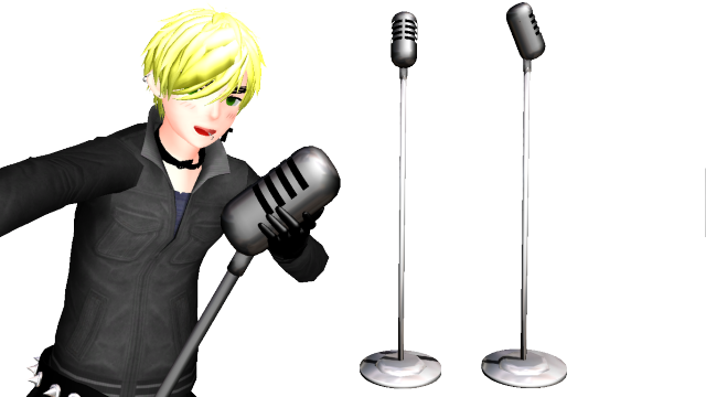 Transparent mic old school. Microphone download by frostychica