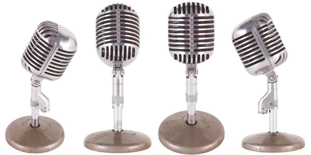 Transparent mic talking. Everything you need to
