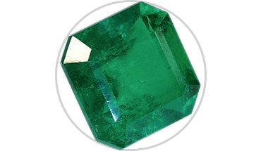 Transparent mineral. Gemstone education guide to