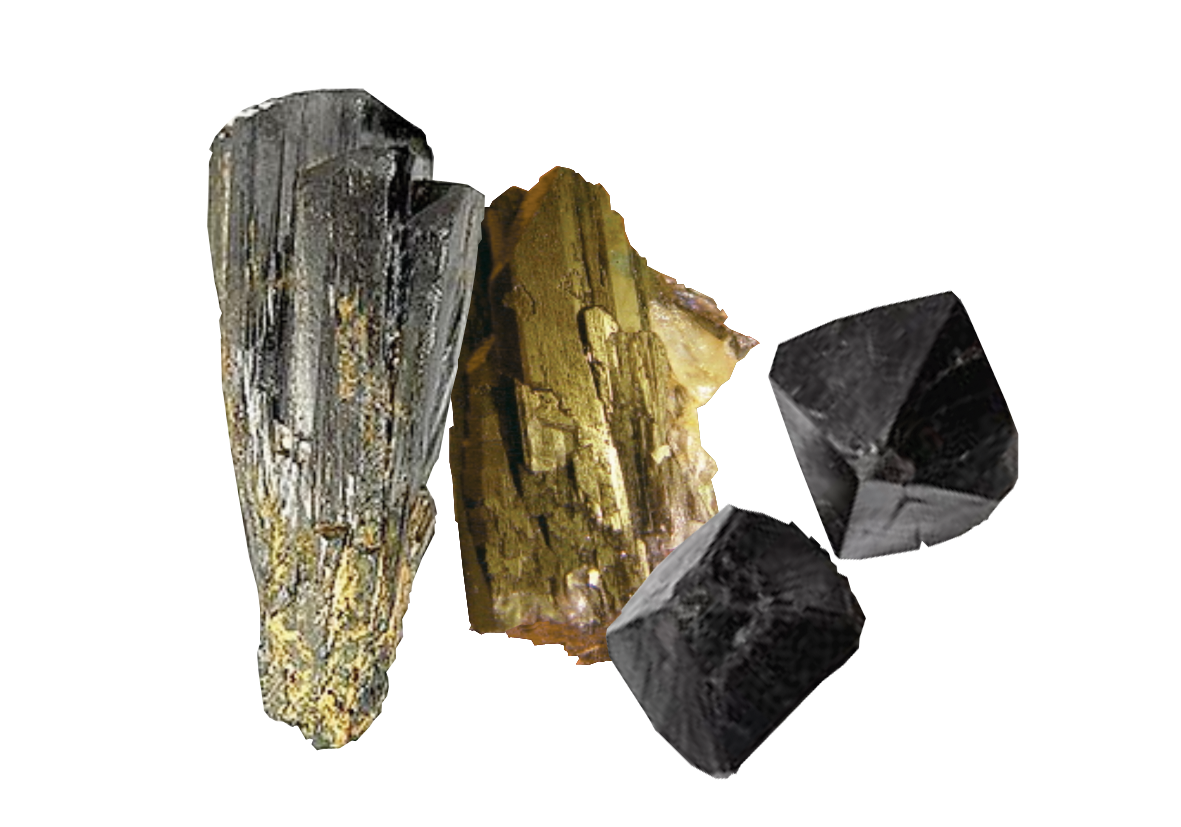 Transparent mineral background. Minerals png hd images