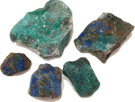 Transparent mineral blue green. Gem identification treasure quest
