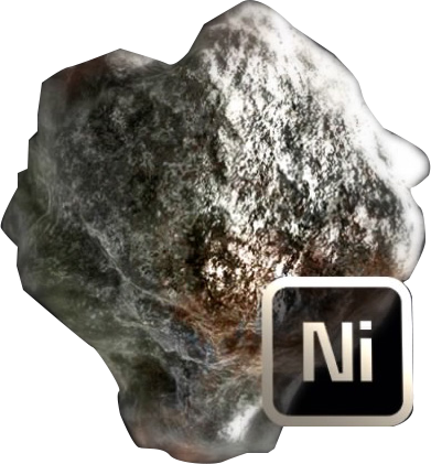 Transparent mineral nickel. Ni mass effect andromeda