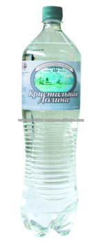 Transparent mineral pure. Natural ecologically drinking water