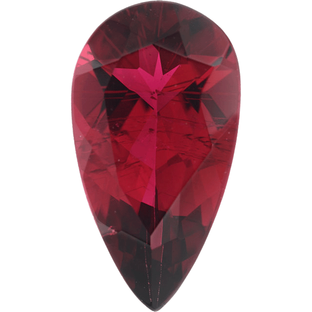 Transparent mineral rubellite. Sell with a story