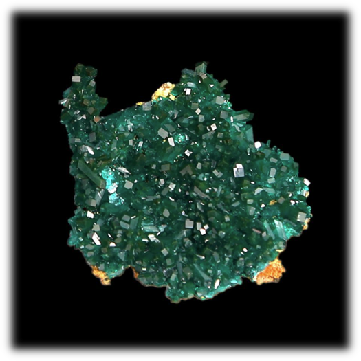 Transparent mineral trigonal. Dioptase celestial earth minerals