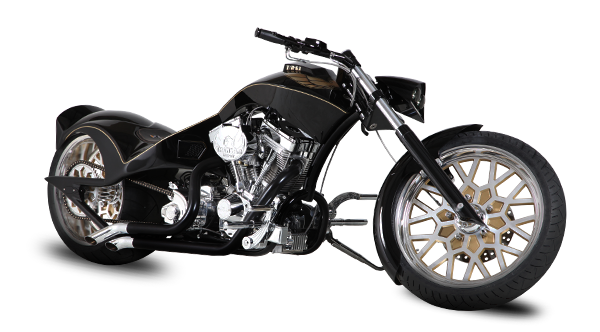 Transparent motorcycle chopper. Gallery cars customs choppers