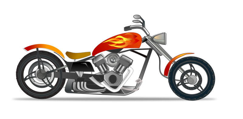 Transparent motorcycle clipart. Harley davidson clipartix