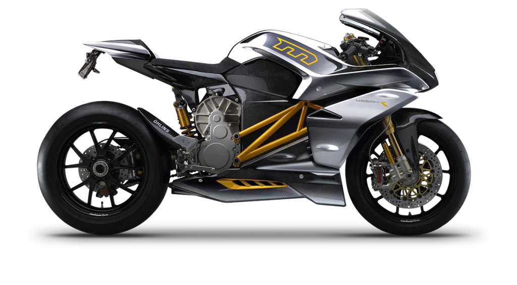 Transparent motorcycle high performance. Electric motorcycles boasting