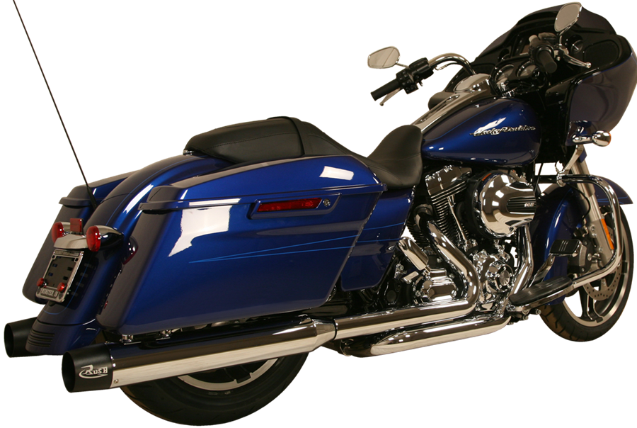 Transparent motorcycle high performance. Harley davidson indian exhaust