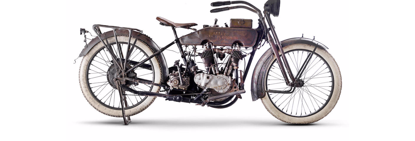 Transparent motorcycle vintage. Bonhams found a million