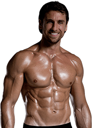 Transparent muscles body. Muscle png image with
