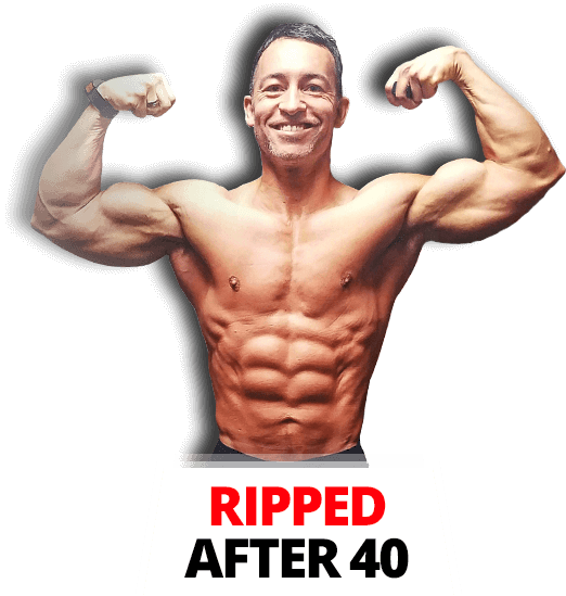 Transparent muscles ripped. After for men this