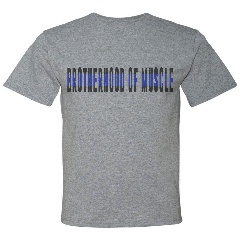 Transparent muscles shirt png. Brotherhood of muscle police