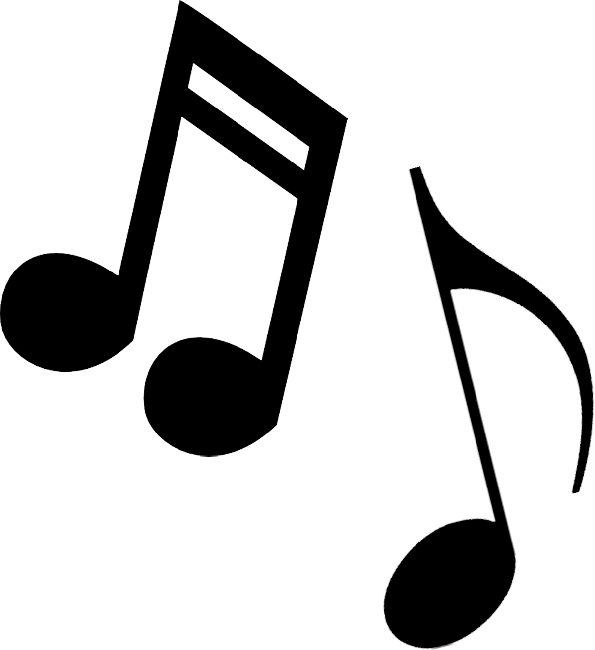 Musical clip art free. Transparent music notes png jpg royalty free library