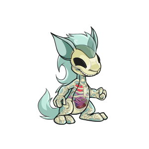 Transparent neopets. Kyrii colors the daily