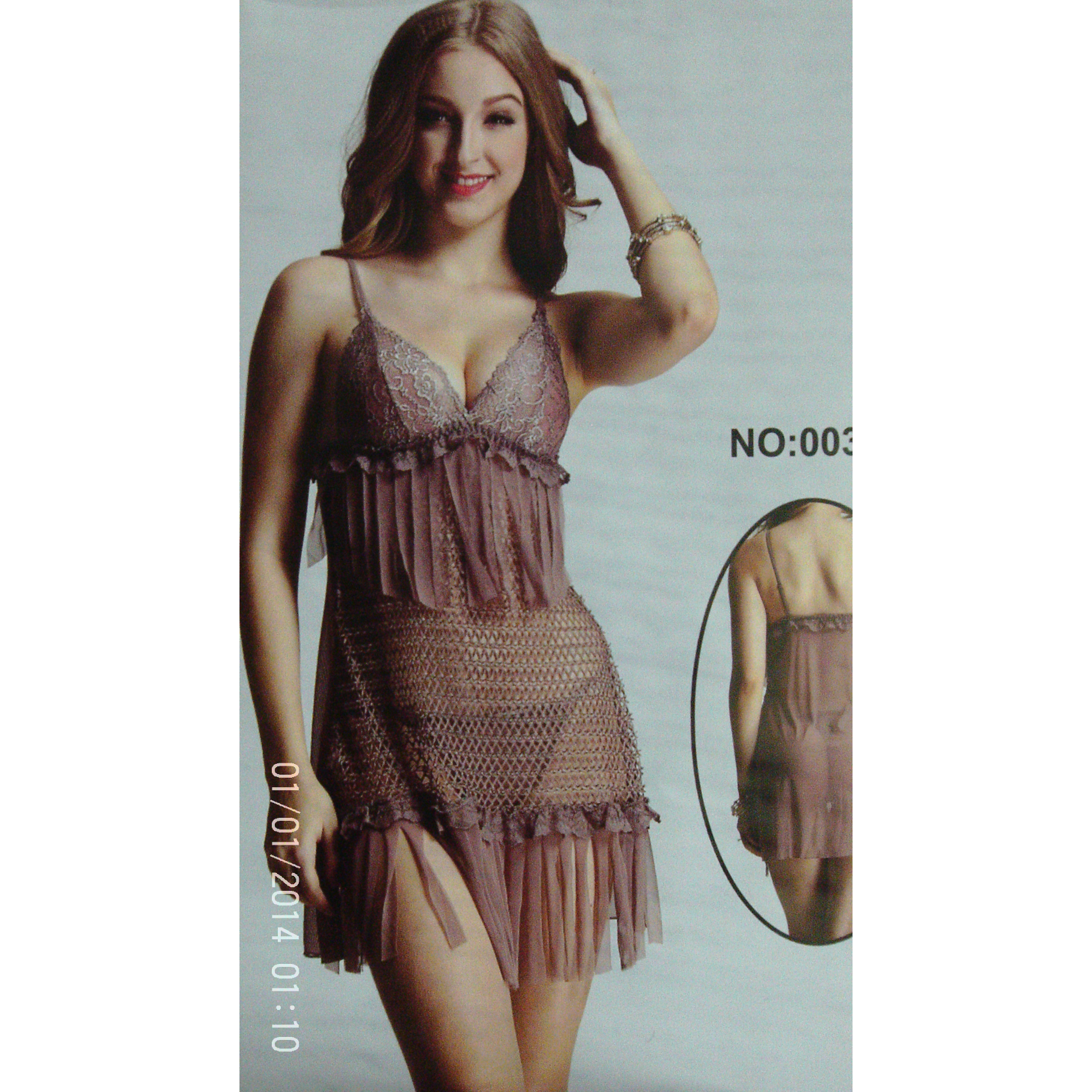 transparent string nightwear