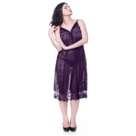 Transparent nightwear stylish