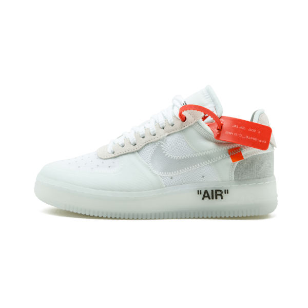 Transparent nike air force 1. The low ao sports