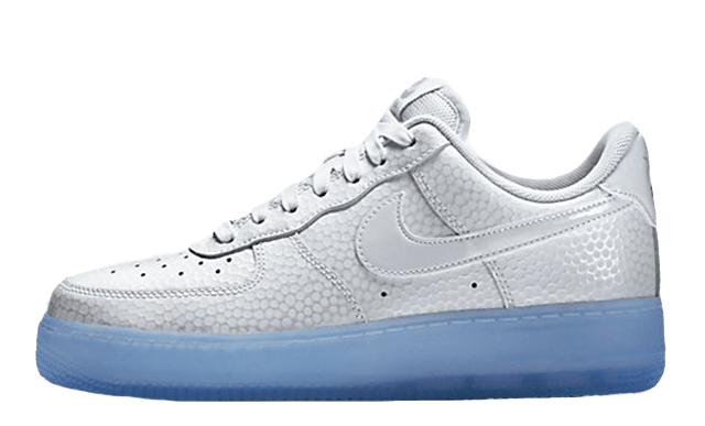 Transparent nike air force 1. Prm white ice the