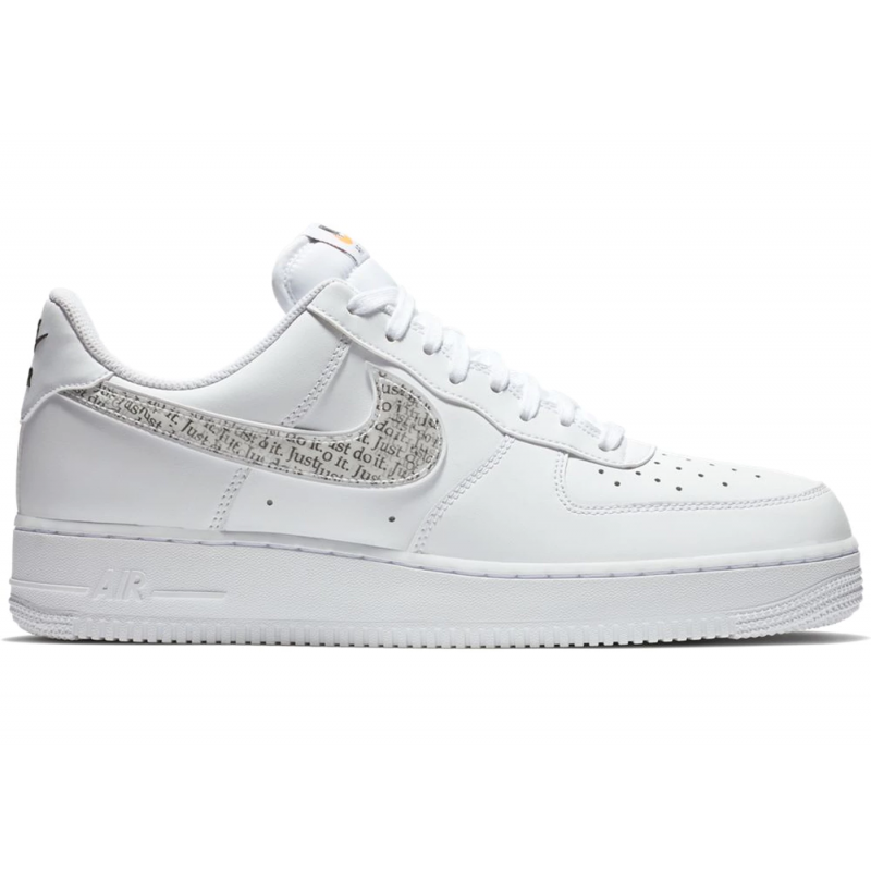 Transparent nike air force 1. Low just do it