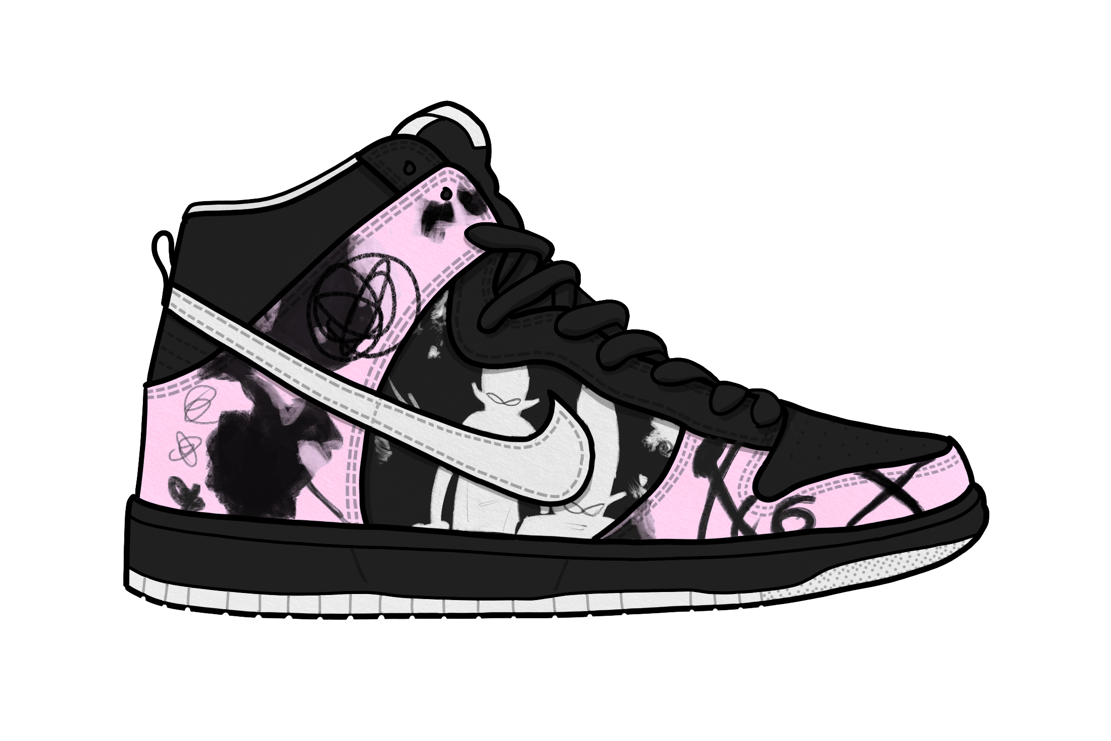 Transparent nikes silhouette. Most iconic nike sbs