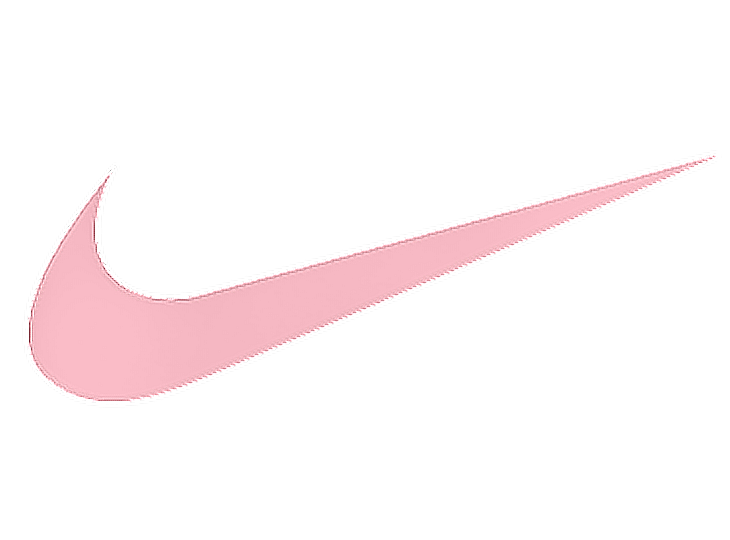 Transparent nike pink logo. Rosa shoes tenis cute
