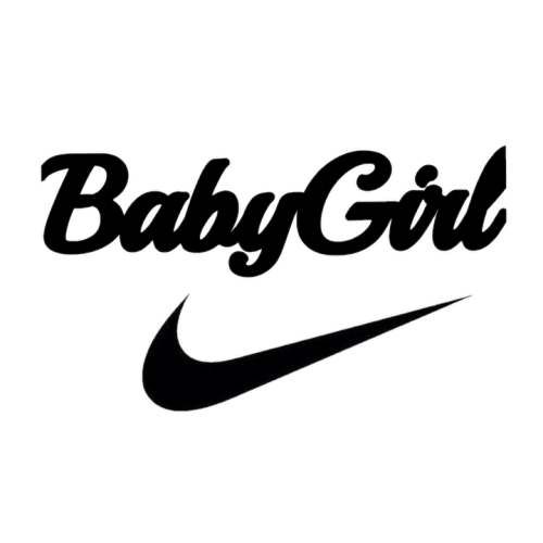 Transparent nike tumblr. Love cute babygirl logo