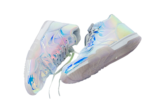 Transparent nikes aesthetic. Image about smile in