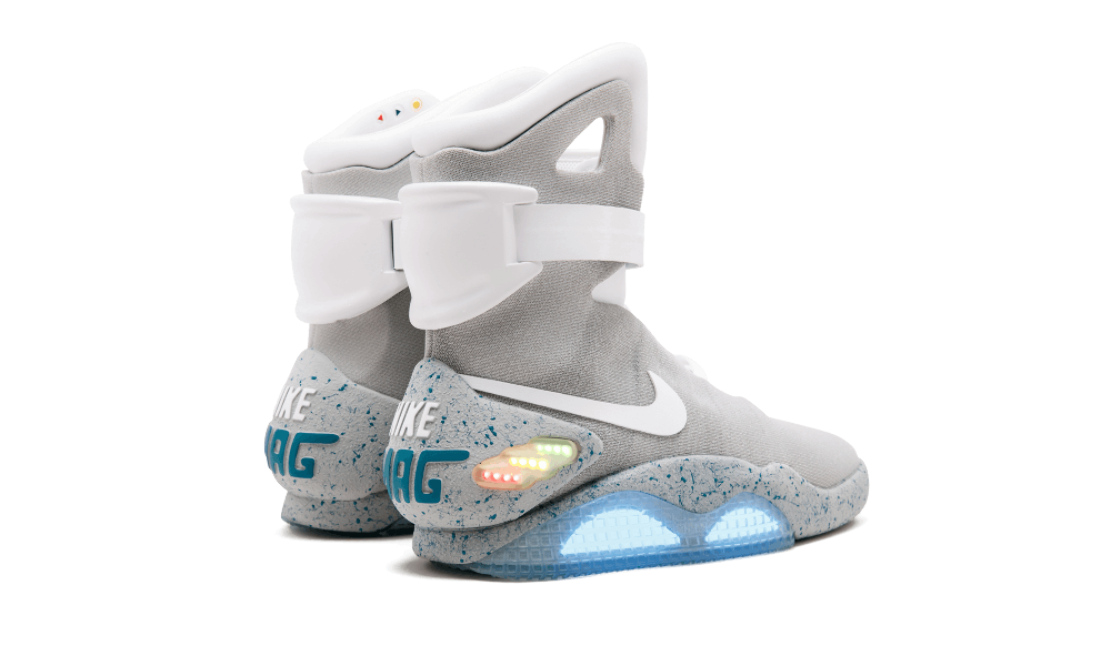 Transparent nikes air mag. Red october yeezys or
