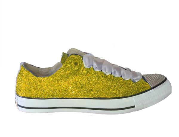 Transparent nikes glitter. Wedding womens crystals converse