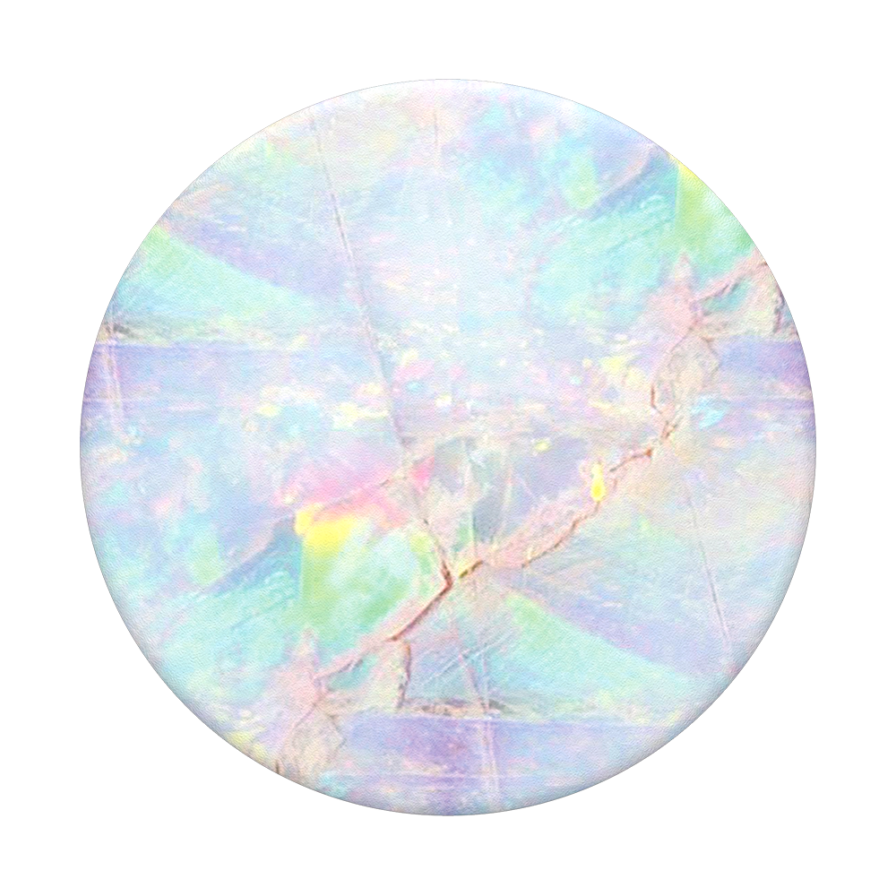 Transparent opal smooth. Popsockets popgrip