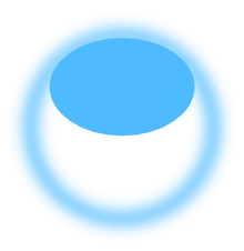 Transparent orb. Simple bubble in inkscape