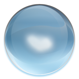 Transparent orb clear. Icon camill iconset mat