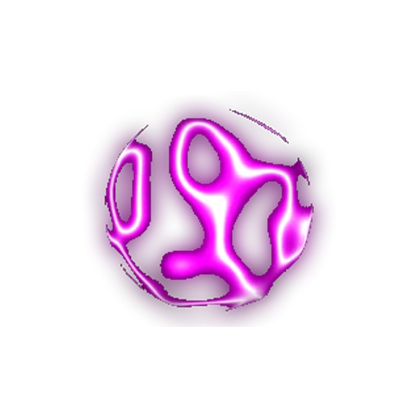 Transparent orb electric. Images with alpha channel