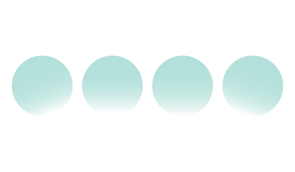 Transparent orb electric. Four orbs