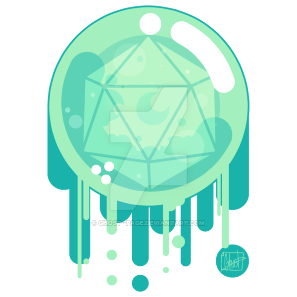 Transparent orb ghost. By page on deviantart